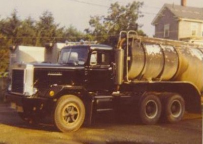 Oil Delivery Tractor