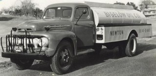 Custom Oil Delivery Truck