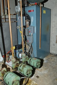 Old Furnace needs maintenance
