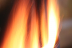 furnace burner flame