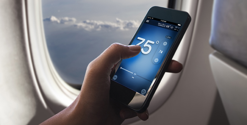 smartphone-control-thermostat