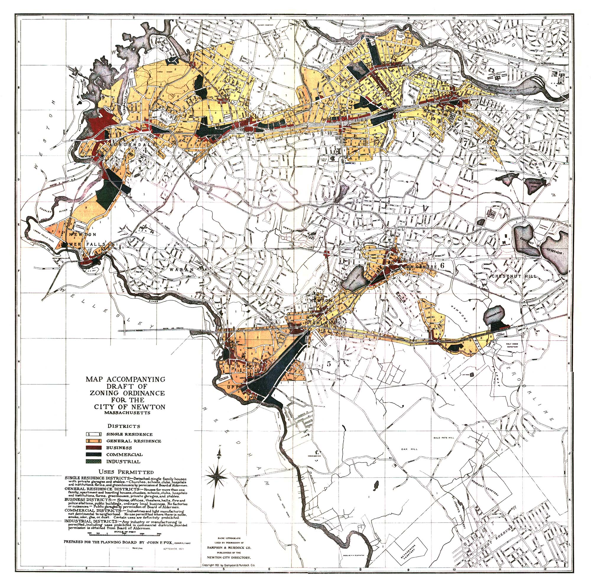 History of Newton 13 Villages One Community Bigelow Oil Energy